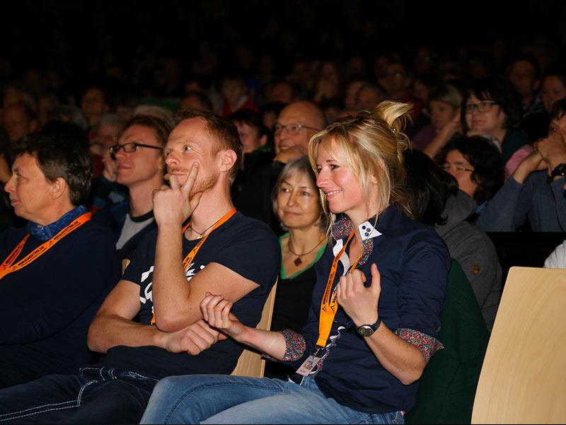 Vorträge auf Festivals und auch kleinerem Publikum in Tschechien und Deutschland
