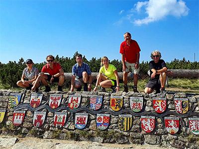 Städtetouren und Wanderungen in Sachsen, Erzgebirgskreis, Nordböhmen, Mittelböhmen